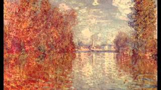 """Robert Schumann's """"Adagio"""" by Claude Debussy for two pianos"""
