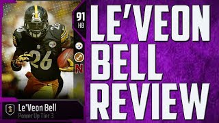 HOW GOOD IS 91 OVERALL LE'VEON BELL? MUT 18 CARD REVIEW