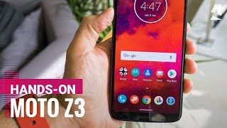 Moto Z3 unboxing and hands-on