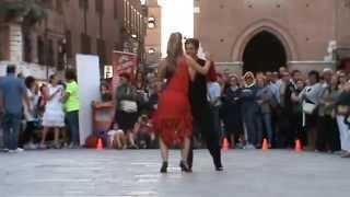 Luca e Giulia dei Los Rumberos: Bachata Monchy Y Alexandra Hasta El Final a Ferrara, 19/09/2014