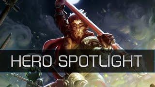 Dota 2 Hero Spotlight - Monkey King