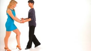 How to Dance a Triple Cha-Cha Lock Step | Cha-Cha Dance