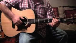 Genesis guitar lesson 1 version on Jorma's Quah album