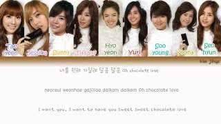 Girls' Generation (SNSD) (소녀시대) - Chocolate Love Lyrics (Han|Rom|Eng|Color Coded) #TBS