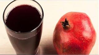 Make Pomegranate juice without Machine