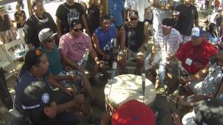 Black Bear Singers Rock The House - Crow Hop Pala California 2015