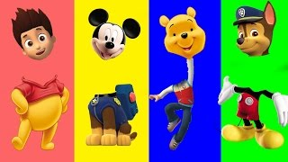 Wrong Heads Mickey Mouse Clubhouse Paw Patrol My Friends Tigger & Pooh Dora Finger Family Nursery Rh