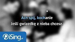 Eugeniusz Bodo i Adolf Dymsza - Ach, śpij kochanie (karaoke iSing)