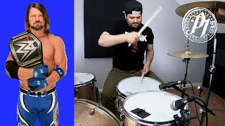 WWE AJ Styles Phenomenal Theme Song Drum Cover @AJStylesOrg