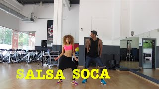 SALSA SOCA-Oscar de Leon/Zumba leavesdance