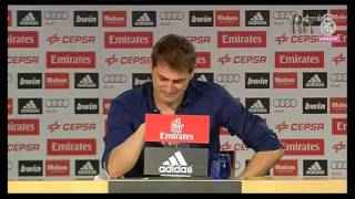 Iker Casillas Last Press Conference as Real Madrid player 12%2F07%2F2015