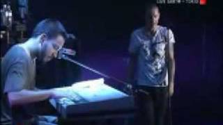 Linkin Park Pushing Me Away Live Earth 2007 (Acoustic Piano)