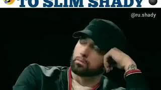 EMINEM TALKS TO SLIM SHADY 😂 MUST WATCH