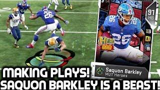 SAQUON BARKLEY IS A BEAST! VON MILLER! Madden 19 Ultimate Team