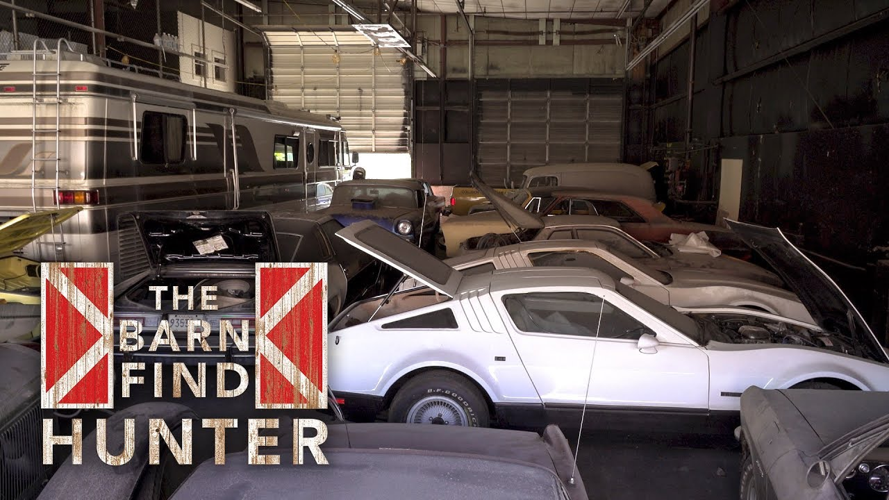 Barn Find Hunter: Forgotten Warehouse full of Cars must go
