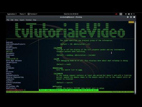 Tutorial Video despre unealta NSlookup