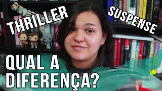 QUAL A DIFERENÇA: THRILLER E SUSPENSE? | VEDA #22 #BrunaExplica | Bruna Miranda