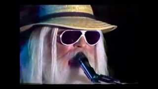 LEON RUSSELL / EDGAR WINTER - LADY BLUE (Live 80s w/ lyrics)