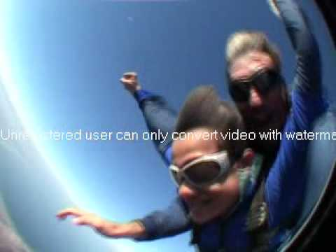 Sky Diving At Mossel Bay South Africa
