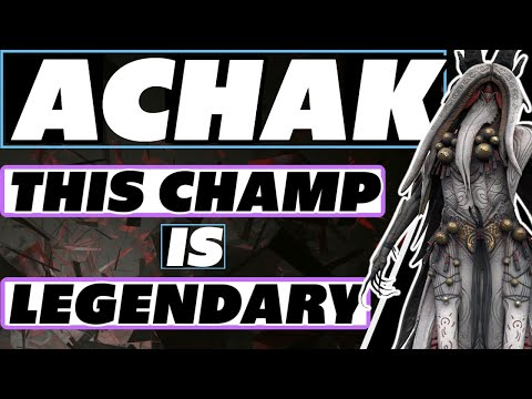 Achak is LEGENDARY | Raid Shadow Legends Achak guide