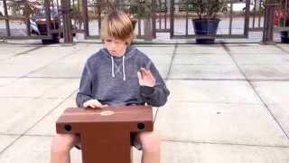 Sterling Tyler Playing Meinl Turbo Slap-Top Cajon