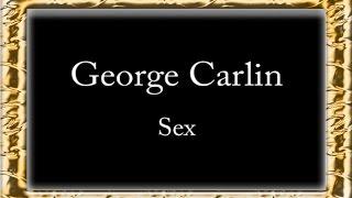 George Carlin - Sex