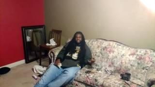 Big L live freestyle at the crib