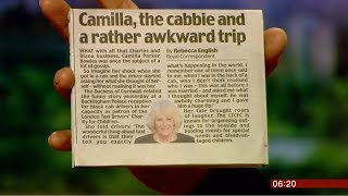 What a taxi driver thought of Camilla (fun story) (UK) - BBC News - 15th February 2019