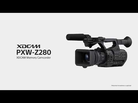 Sony PXW Z280 video introduttivo