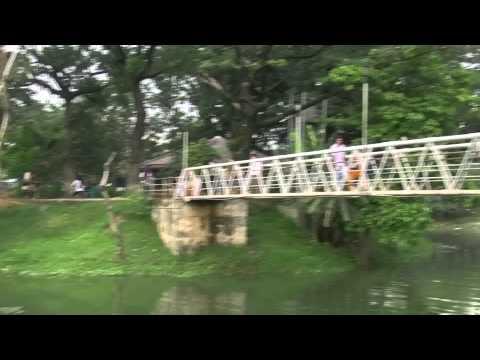 アキーラさん!バングラデッシュ・ダッカ・ダンモンディ湖!Dahka,Bangladesh