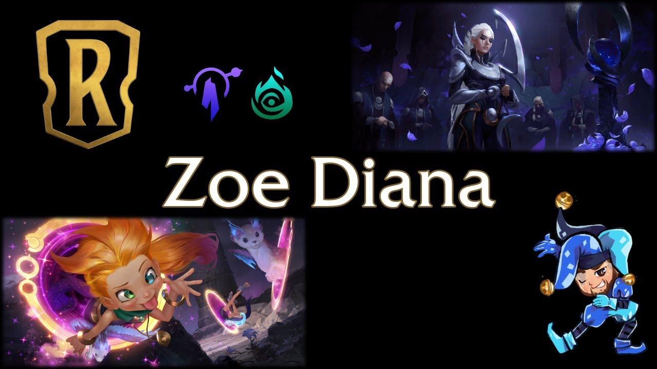 Jeff Hoogland - Zoe Diana Invoke - Legends of Runeterra Deck - January 22nd, 2021