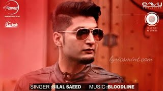 KAASH PUNJABI SONG || BILAL SAEED || EMOTIONAL SONG || AK ||