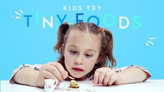 Kids Try Tiny Foods   Kids Try   HiHo Kids