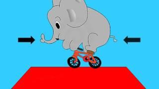 Canción Infantil  El elefante en el tejado