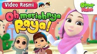 Lagu Raya | Siti Nordiana x Omar & Hana | Oh Meriahnya Raya! | Video Rasmi
