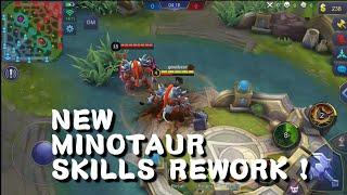 Rework Hero - Minotaur | New Skills Review + Explanation