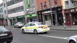 Garda's Toyota Avensis (Irish Police) responding in Galway   Blues n' Twos