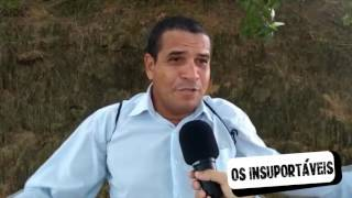 SERÁ QUE LENILDA SABE CANTAR O HINO   OS INSUPORTÁVEIS