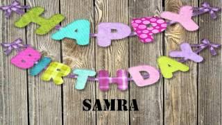 Samra   wishes Mensajes