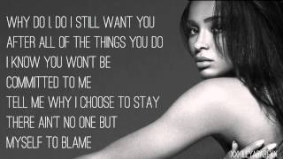 Ciara - Only One (Lyric)