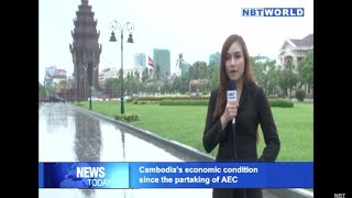 Cambodia's economic condition since the partaking of AEC