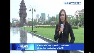 Cambodia's economic condition since the partaking of AEC