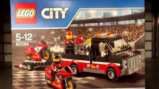 lego 60084 - 60084 Rennmotorrad-Transporter