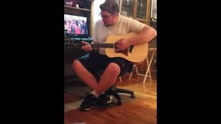 Hero by Sterling Knight from Disney's Starstruck guitar cover