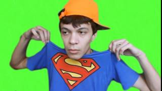 Júlio Cocielo Superman - Green Screen - Fundo Verde