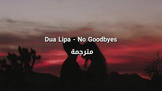 Dua Lipa - No Goodbyes مترجمة