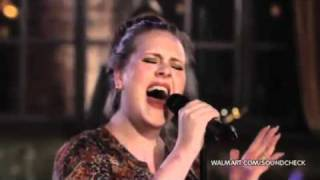 Adele - Rolling In The Deep (Live At Walmart Soundcheck)