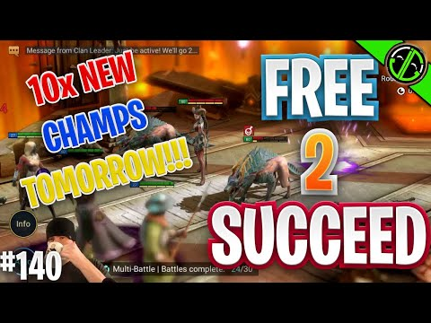 10x NEW Champs Tomorrow... We Going In HARD Bruh | Free 2 Succeed - EPISODE 140