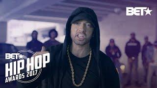 Eminem clash violemment Donald Trump durant son BET Hip Hop Awards Freestyle Cypher