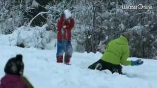 Winterliche Adventswoche - Am Freitag auch im Westen weiß